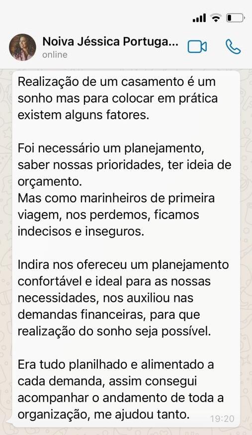 Depoimento Jéssica Portugal